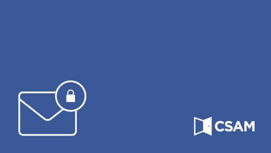 Activation du code de sécurité par e-mail