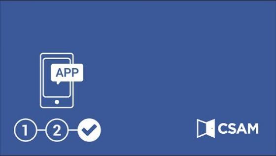 Aktivierung einer App für den Zugang mittels Sicherheitscode